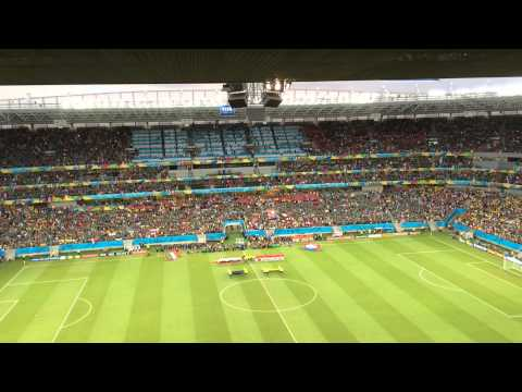 Mexican National Anthem - Mexico Vs Croatia video