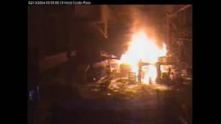 caster fire.WMV
