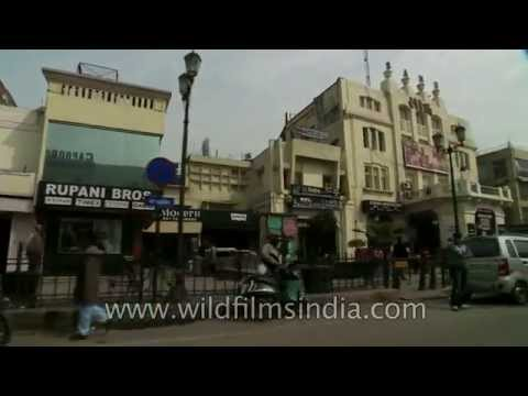 Drive through the charming city of Lucknow