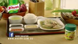 Knorr Singapore Recipe - How to cook Hainanese Chicken Rice