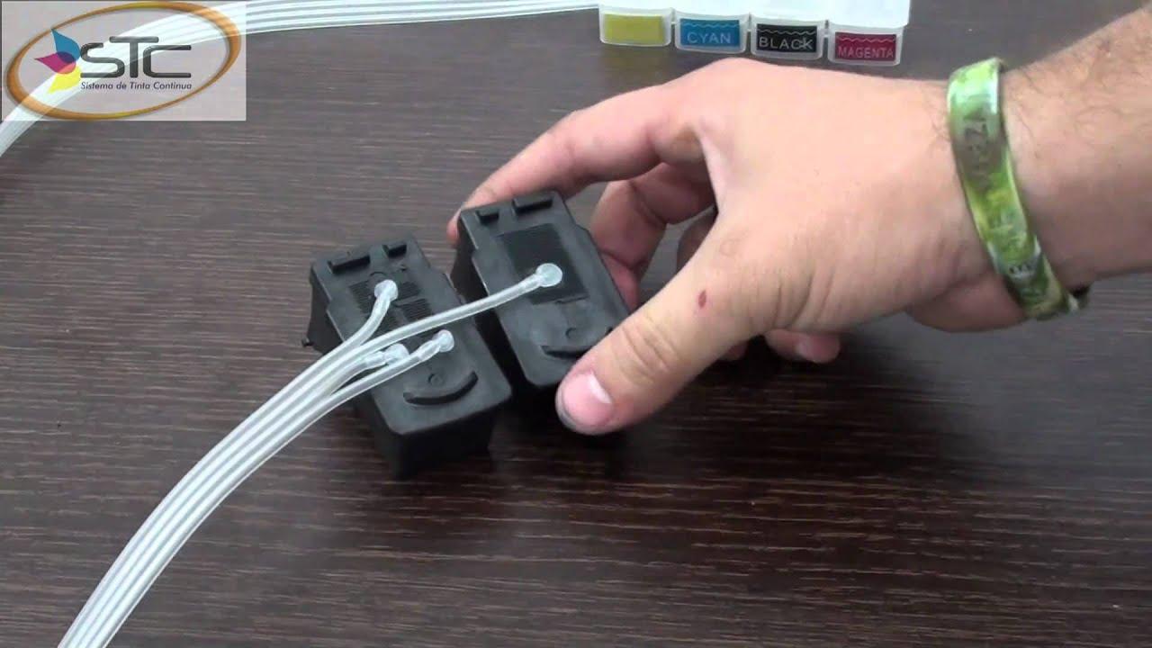 Заправка струйного картриджа своими руками