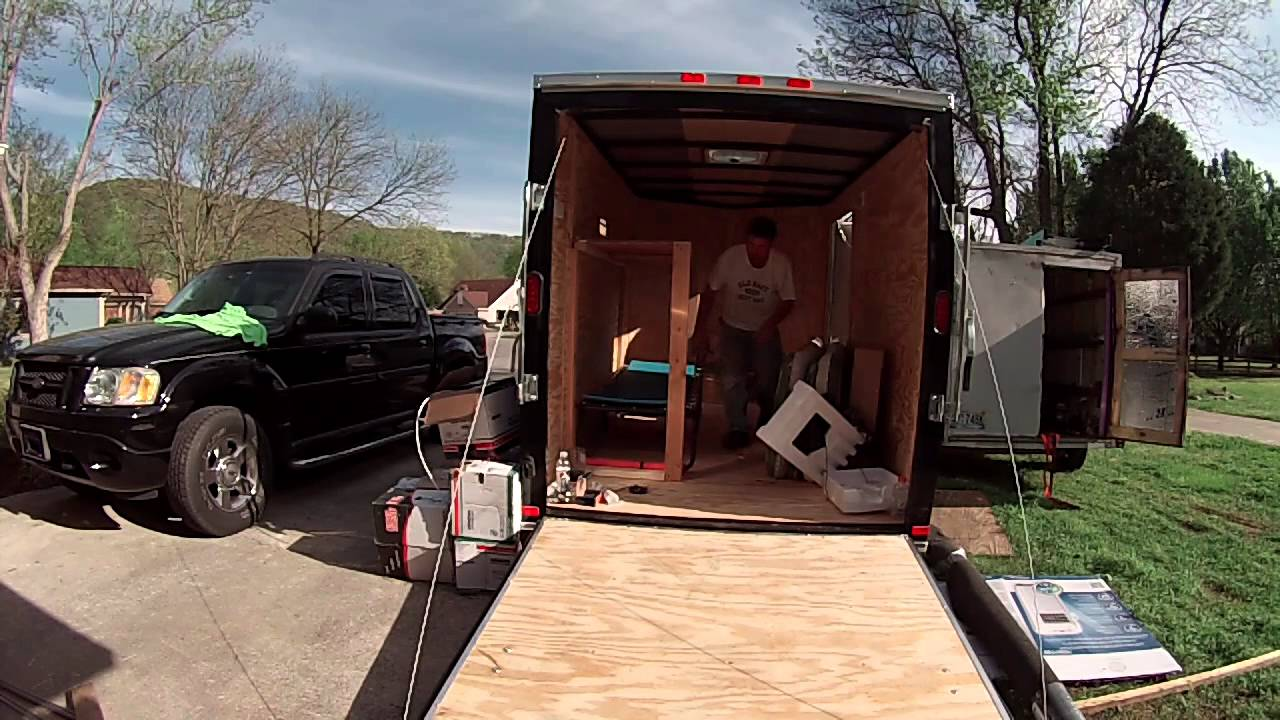 Intro To My 6x10 Enclosed Trailer Conversion Project Youtube