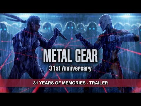 METAL GEAR 31ST ANNIVERSARY TRAILER - Memories That Will Make You Cry!