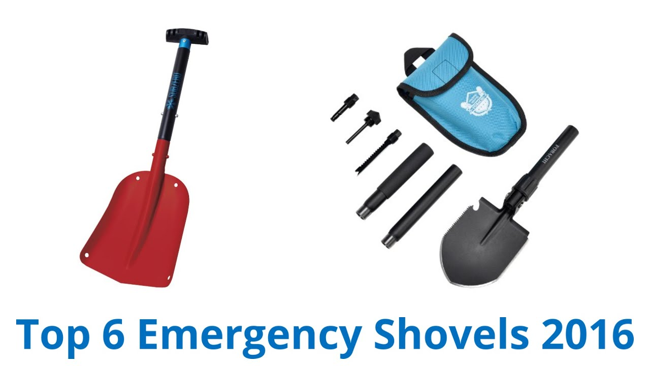 6 Best Emergency Shovels 2016