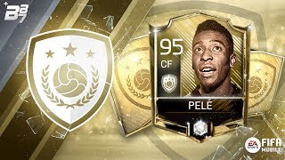 BRAND NEW ICON PELE! THE MOST EXPENSIVE SBC ON FIFA! | FIFA MOBILE