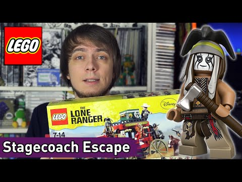 LEGO The Lone Ranger: Stagecoach Escape (79108) - Brickworm