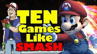 Ten Games Like Smash Bros.