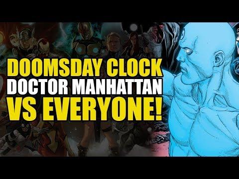 Doctor Manhattan vs Everyone! (DC Comics: Doomsday Clock Part 9)