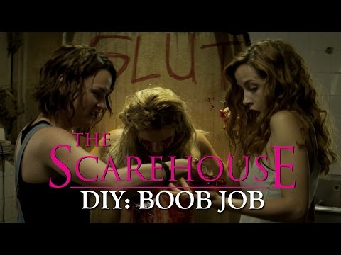 diy Boob Job - The Scarehouse - Nsfw Gore Clip video