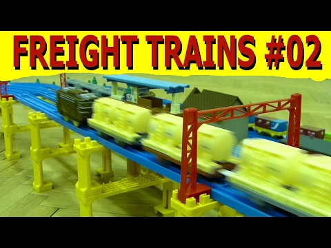 プラレール Tomy/Plarail: Freight trains vol. 2 [HD]