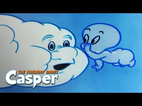 Casper Classics | Ghost Of The Town / Super Spook  | Casper The Ghost Full Episode