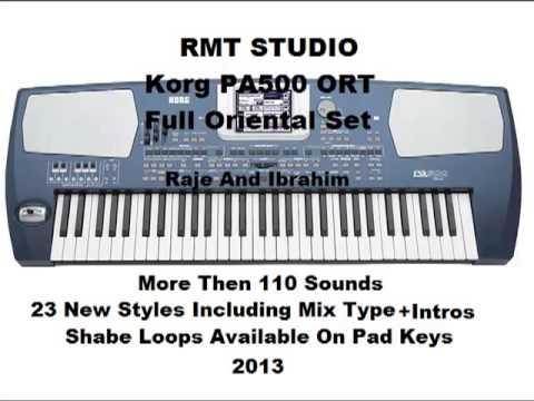 KORG PA500 ORT RMT Oriental Set Sounds Styles Loops