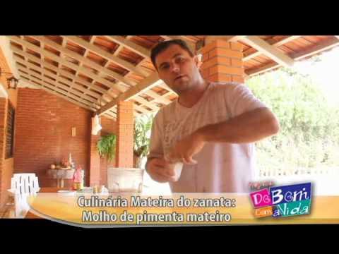 CULINÁRIA MATEIRA DO ZANATA PIMENTA - MOLHO DE PIMENTA