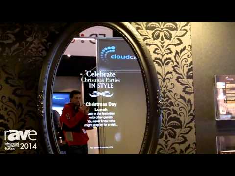 ISE 2014: CloudCasting Displays Digital Mirrors