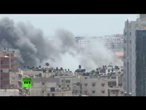 Photos of Gaza bombing 21st of july 2014