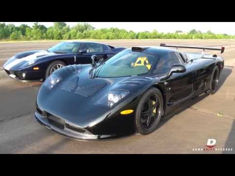 HARD Accelerations  Mosler Raptor GTR + Ford GT