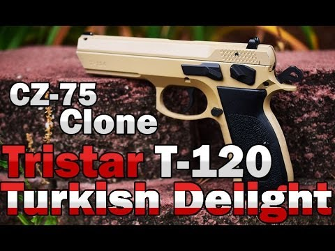 Tristar Arms T-120 9mm review CZ-75 clone