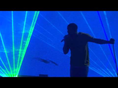 Drake - Find Your Love live Sydney All phones Arena 25/02/15