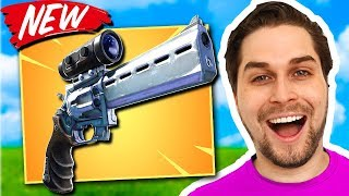 Nieuwe Scoped Revolver = WIN! 😍 - Fortnite Battle Royale (Nederlands) met Duncan