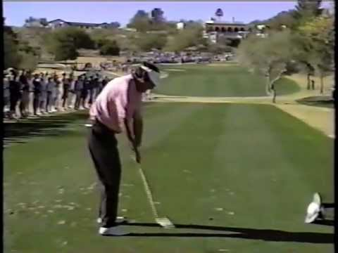 Here's a clip of the golf swing of Bruce Lietzke from a while back. http://littleleaky.blogspot.com/
