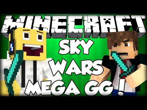 Minecraft Sky Wars PARTIDA GG Ft.Stux