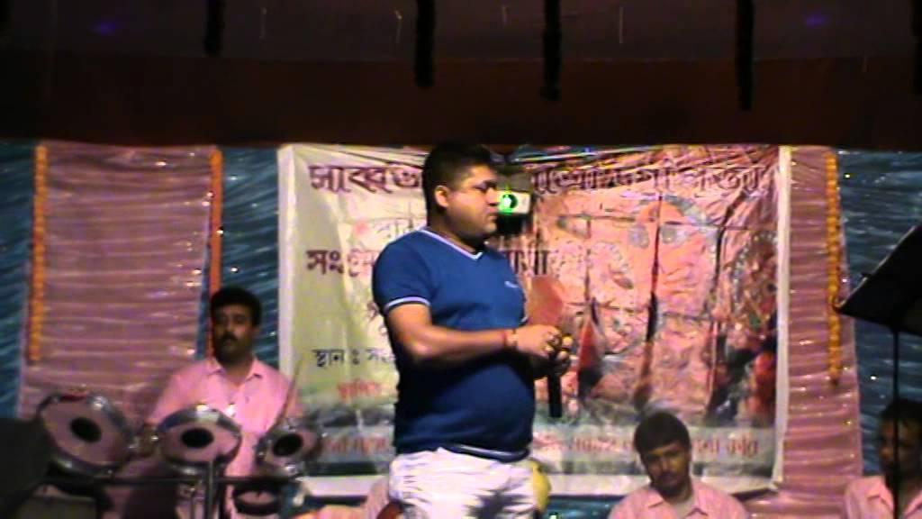 Atish live programme Tu Lalpaharir Deshe Ja - YouTube