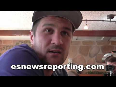 Sergey Kovalev talks about his power and Bernard Hopkins