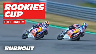 2019 Red Bull Rookies Cup | Sachsenring FULL RACE 2 | BURNOUT