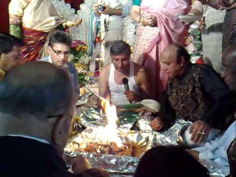 Navami Hom - Durga Puja 2010