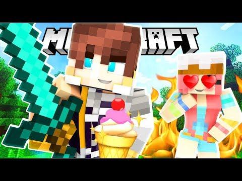 LOVE AT FIRST SIGHT! | Krewcraft Minecraft Survival | Episode 2