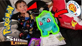Ethan Lost His Tooth! TOOTH FAIRY Brings SURPRISE POKEMON CARDS and The New BULBASAUR Build A Bear!
