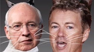 Rand Paul Pisses Off The Wrong Dick Cheney - Meow!