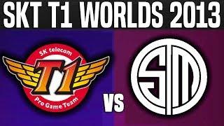 SKT vs TSM - Worlds 2013 Group Stage - SKT T1 Road to Worlds 2017 | League Of Legends Worlds 2013