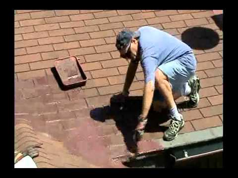 Roof Coating Sealer Leak Repair Paint House Waterproofing roof.