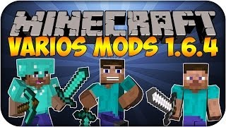 Pack de Mods Minecraft 1.6.4 - Increibles !!!