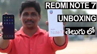 Xiaomi redmi note 7s Unboxing in Telugu