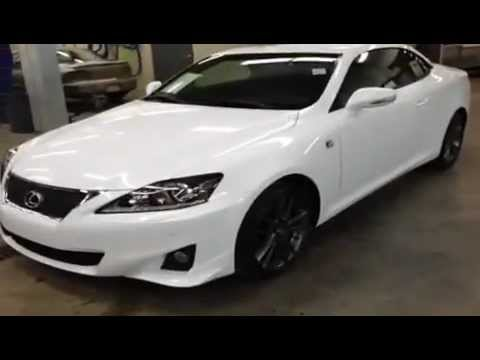 2013 Lexus IS 250C 2 door Convertible Lexus of Edmonton Edmonton Alberta
