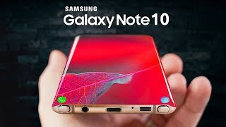 Samsung Galaxy Note 10 - ЛУЧШЕ ЧЕМ ГЭЛЭКСИ S10! БОМБА ОТ САМСУНГ!!!