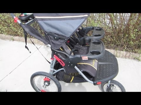❤ Baby Trend Navigator Double Jogging Stroller Review ❤
