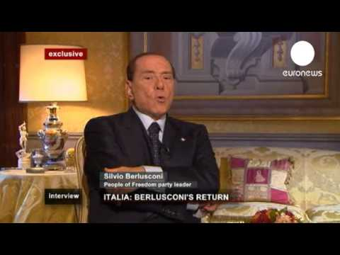 Exclusive: Berlusconi rails against EU leaders Interview Part 2