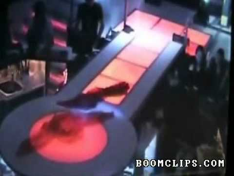 Belly Dancer Falls Off Stage video clip Stupid videos BoomClips com