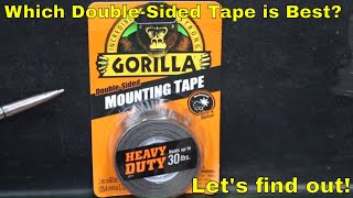 Which Double-Sided Mounting Tape is Best? Let's find out!