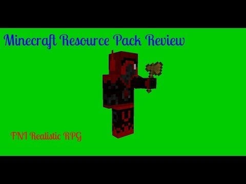 Minecraft Resource Pack Review - FNI Realistic RPG
