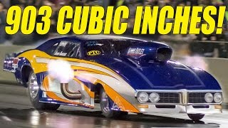 FLAMETHROWER Firebird - 903 Cubic Inches!