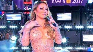 Mariah Carey New Years Eve Awkward Lip Sync Fail [Reaction]