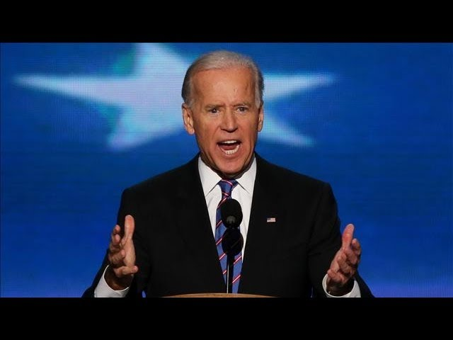 DNC 2012 - Joe Biden Full Speech - Bin Laden is Dead, GM is Alive