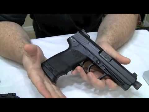 Heckler & Koch USP Tactical 45 - Review