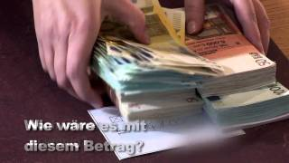 Think rich!!  Denken Sie sich reich! Money Visualization