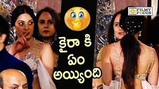 Kiara Advani Looks Disturbed @Isha Ambani Wedding