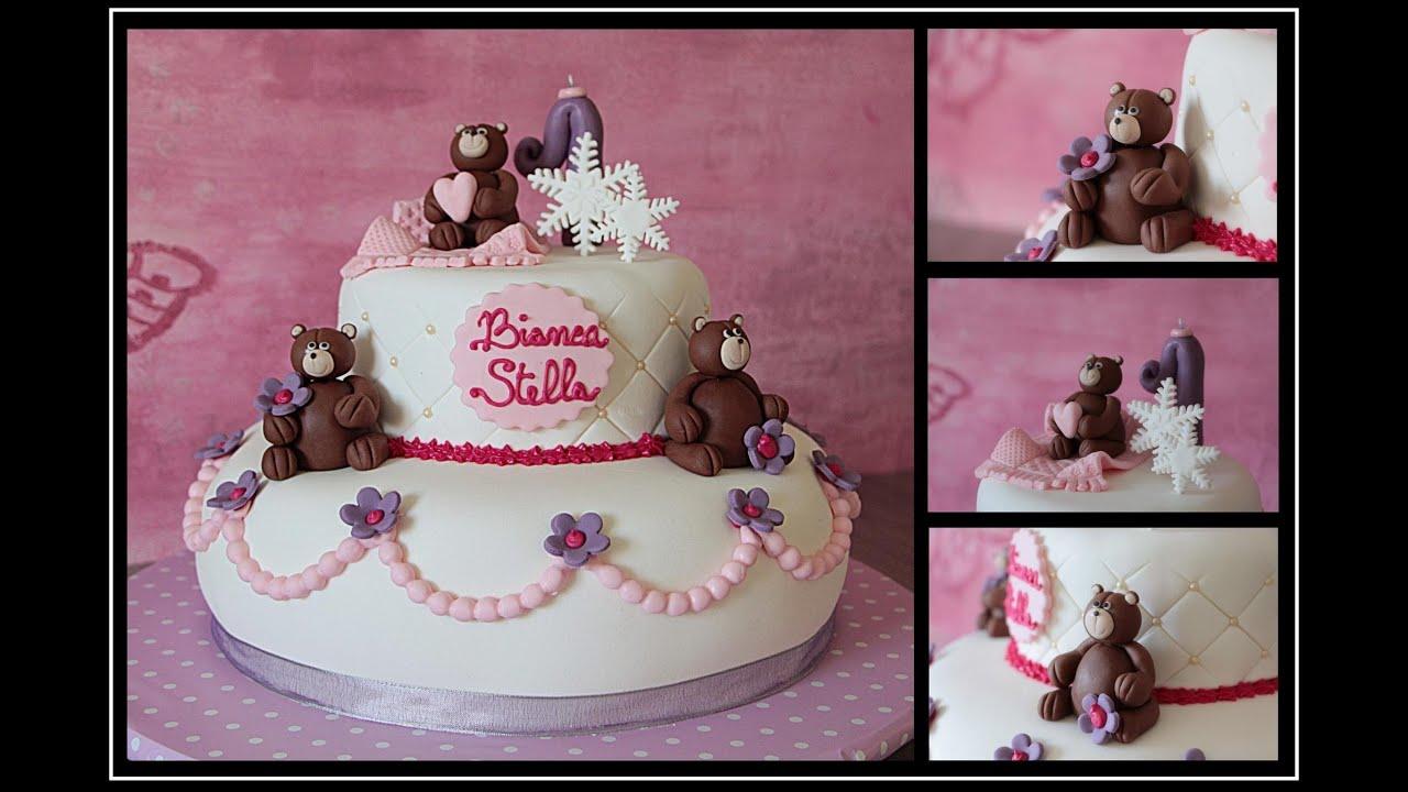 Torte di compleanno per bambini come decorarle con la for Torta di compleanno per bambini